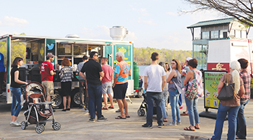 Sign of spring: Food Truck Fridays are back!