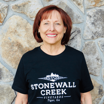 Sandi Diehl of Stonewall Creek Vineyard