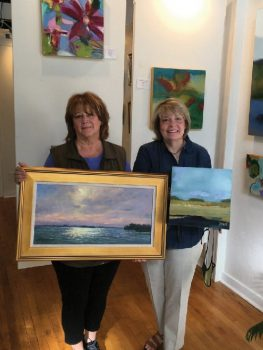 Artists Fran Allin Hazel and Debra Nadelhoffer have joined Gallery on the Square in downtown Gainesville