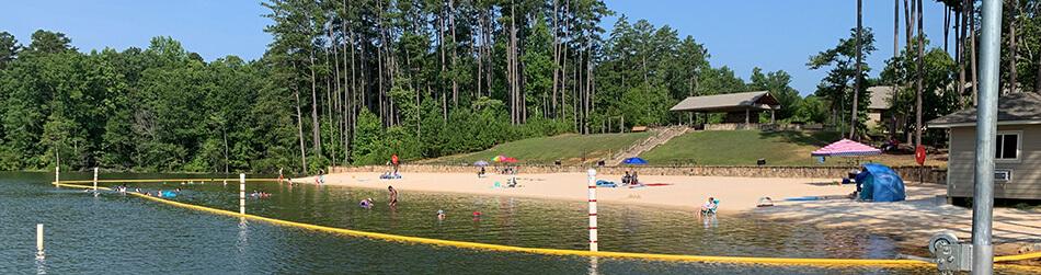 Don Carter State Park Beach area