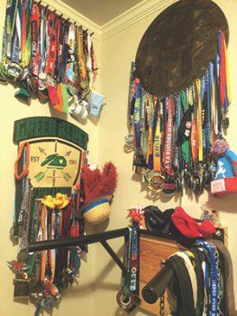 Alonzo Borja's medal collection
