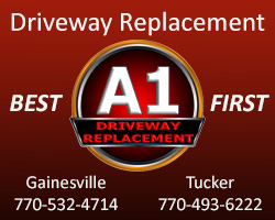 A-1 Driveway Replacement Ad