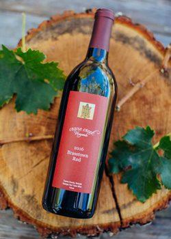 Bottle of wine - Brasstown Red