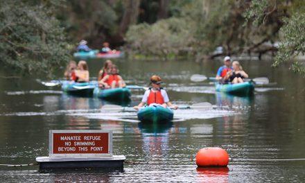 America's Boating Club Atlanta visits central Florida's manatees