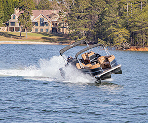 Carefree Boat Sales conducts trials on Lanier