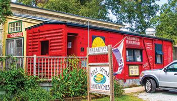 Caboose Restaurant-Rutledge, GA
