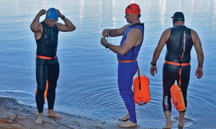 Local athletes challenge Lanier on way to Ironman competition