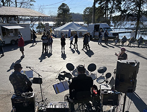 Live music at Gainesville Marina Boat & RV show in February