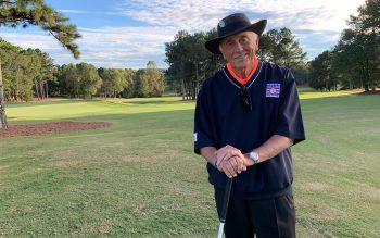 2019 Phil Niekro before his golf tournament