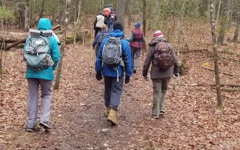 Group of Winter Hikers