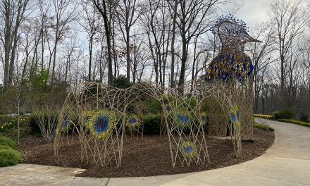 New sculptures roosting at Gainesville Garden