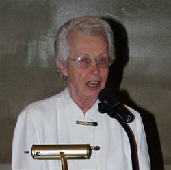 Jackie Joseph, past president of Lake Lanier Association
