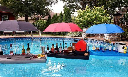 Veteran invents floating 'Aqua Bar'