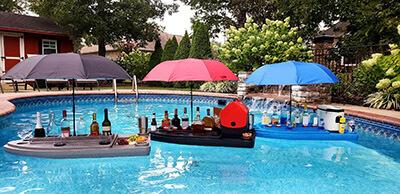 Floating Aqua Bar