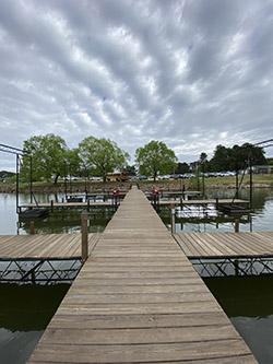 New dock at LLOP