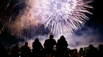 Independence festivities around Lake Lanier