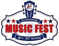 Cumming Music Fest logo