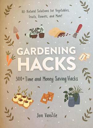 Cover of book, Gardening Hacks