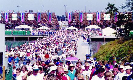 25th anniversary of Olympics on Lanier