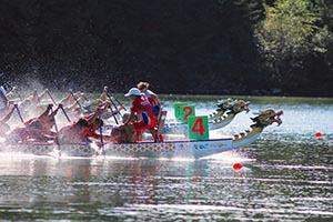 Dragon Boat race on Lake Lanier