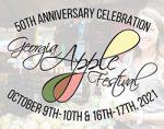 Georgia Apple Festival logo text