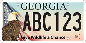 DNR Wildlife license plate